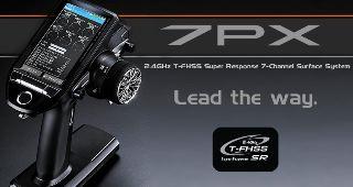 RADIO CAR 7PX A VOLANTINO 2,4G CON RICEVENTE R334SB