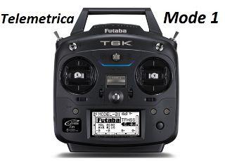 RADIO FUTABA 6K TELEMETRICA