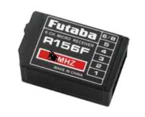 MICRO RX FPR 156F 6ch 35mhz FM