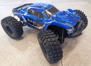 Monster BullExtreme 1/10 Brushless RTR Blu