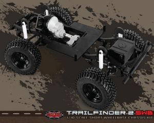 RC4WD TRAIL FINDER 2 TRUCK SWB IN KIT NUDO SENZA ELETTRONICA