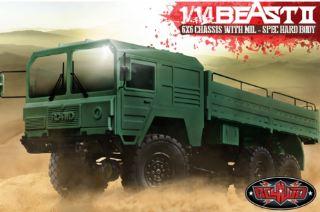 BEAST II CAMION 6x6 SCALA 1/14