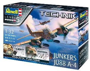 JUNKERS JU88 A4 (TECHNIK) 1/32