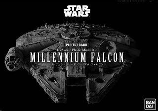 BANDAI MILLENIUM FALCON 1/72     PERFECT GRADE STAR WARS