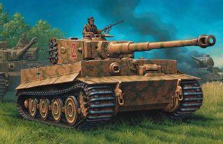 PzKpfw IV TIGER I Ausf. E 1/72