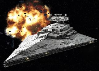 IMPERIAL DESTROYER    STAR WAR