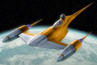 NABOO STARFIGHTER    STAR WARS