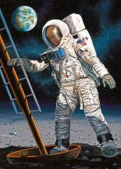 Apollo 11 Astronauta sulla luna 1/8 50 Years Moon Landing