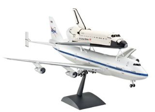 SPACE SHUTTLE & BOEING 747 SCA