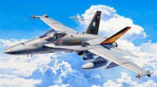 F/A 18C HORNET            1/72