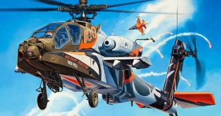AH64D APACHE              1/48