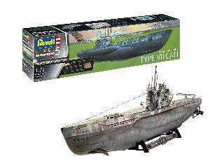 Sottomarino German Type VII C/41 1/72