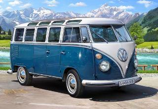 VW TYP 2 T1 SAMBA BUS     1/16