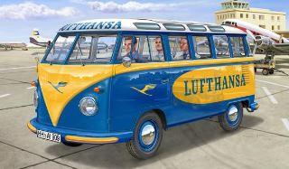 VW T1 SAMBA BUS LUFTHANSA 1/24