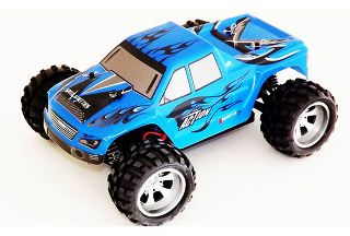 VORTEX MONSTER TRUCK BLU  1/18