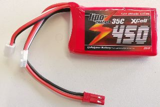 LiPo CRACKER 7,4v 480mAh   25C