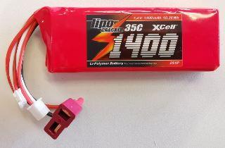 LiPo CRACKER 7,4v 1200mAh  25C
