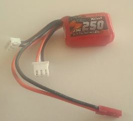 LiPo CRACKER 7,4v 250mAh   35C