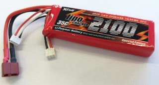 LiPo CRACKER 7,4v 2200mAh  35C
