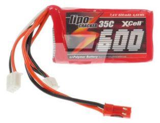 LiPo CRACKER 7,4v  600mAh  35C