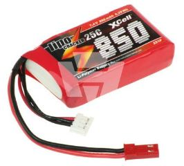 LiPo CRACKER 7,4v 850mAh   35C