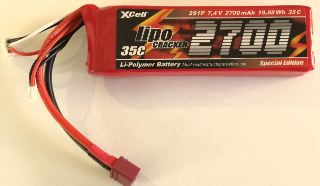 LiPo CRACKER 7,4v 2700mAh  25C