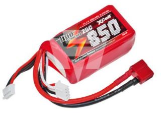 LiPo CRACKER 11,1v 850mAh  25C