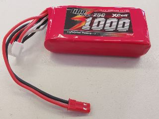 LiPo CRACKER 11,1v 1000mAh 25C
