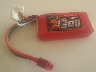 LiPo CRACKER 7,4v 1300mAh  25C