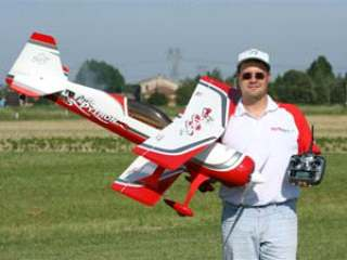 PITTS PYTHON S50 BIANCO ROSSO