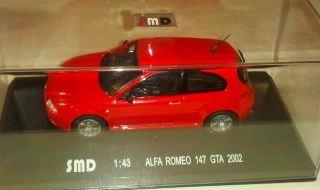 ALFA ROMEO 147 GTA ROSSA  1/43