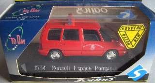 RENAULT ESPACE POMPIERI   1/43