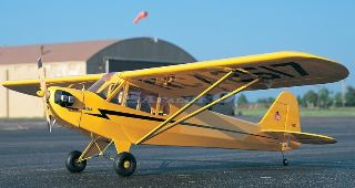 PIPER J3 CUB 61-90 BALSA KIT