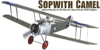 EP SOPWITH CAMEL ARF     900mm