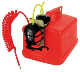 Tanica rossa per carburante Fuel Caddy Fueling System 5Lt