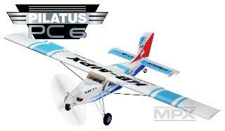 PILATUS PC6 RR BLU      1250mm