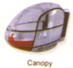 CANOPY       EASY COPTER V2 V6