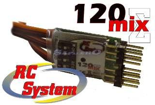 120 MIX MISCELATORE PER RADIO