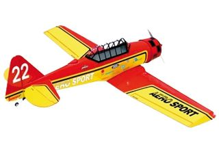 SEAGULL EP AT-6 TEXAN 1.6m rosso/giallo