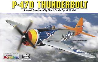 GIANT P47D THUNDERBOLT ARF