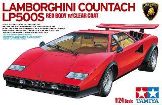 COUNTACH LP500 Red 1/24 in edizione limitata