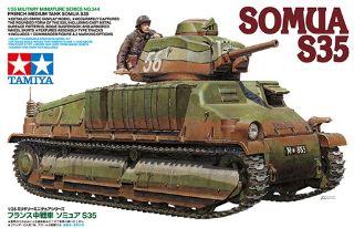 CARRO FRANCESE SOMUA S35  1/35