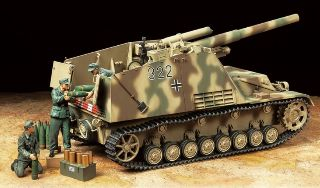 CARRO HOWITZER HUMMEL Late Production 1/35