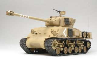 SUPER SHERMAN CARRO RC    1/16