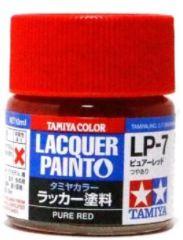 LP-7 PURE RED              6pz BOTTIGLIETTA COLORE LACQUER