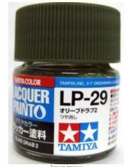 LP-29 OLIVE DRAB 2         6pz BOTTIGLIETTA COLORE LACQUER