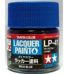LP-41 MICA BLUE            6pz BOTTIGLIETTA COLORE LACQUER