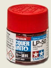 LP-50 BRIGHT RED           6pz BOTTIGLIETTA COLORE LACQUER
