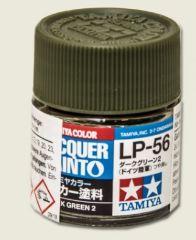 LP-56 DARK GREEN 2         6pz BOTTIGLIETTA COLORE LACQUER