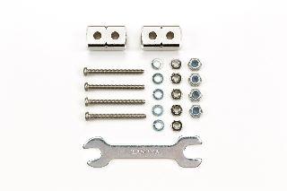 Mass damper corti 8x8x14 Mini4wd argento